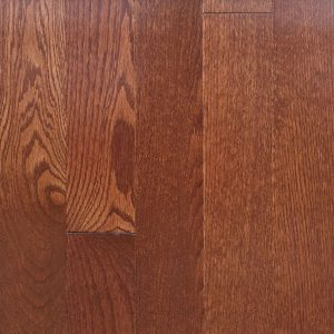 Crown saddle red oak