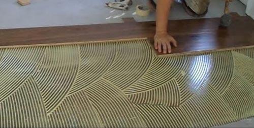 glued-flooring-installation