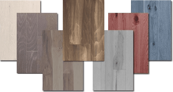 hardwood color matching