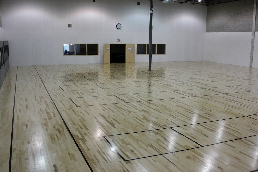 GYM floors installation