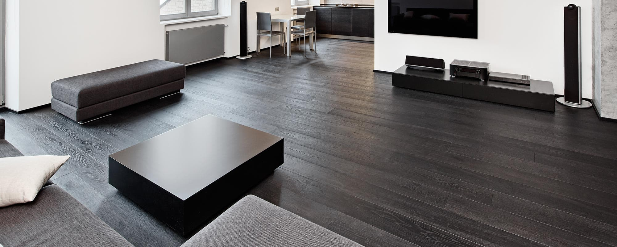 dark engineered floors