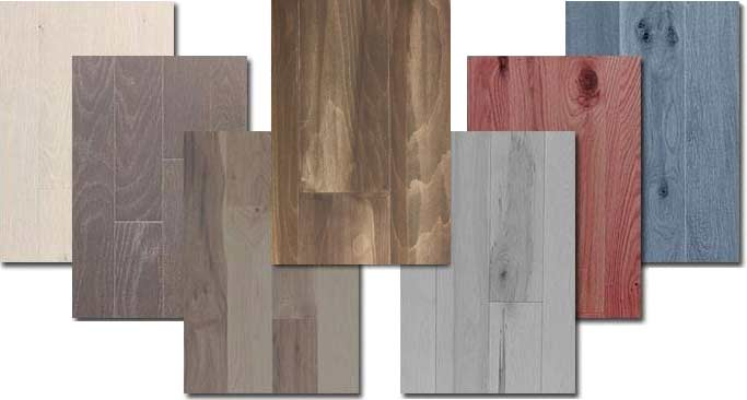 hardwood floor color matching
