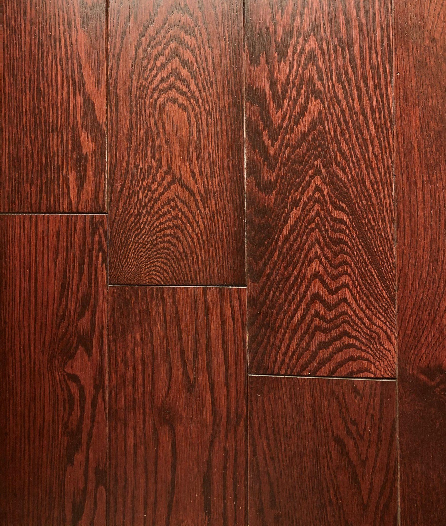 Pal Cherry Rustic Red Oak Hardwood Planet Flooring